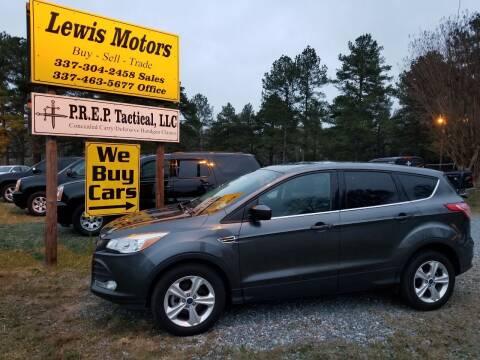 2016 Ford Escape for sale at Lewis Motors LLC in Deridder LA