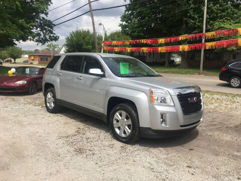 2013 GMC Terrain for sale at Antique Motors in Plymouth IN