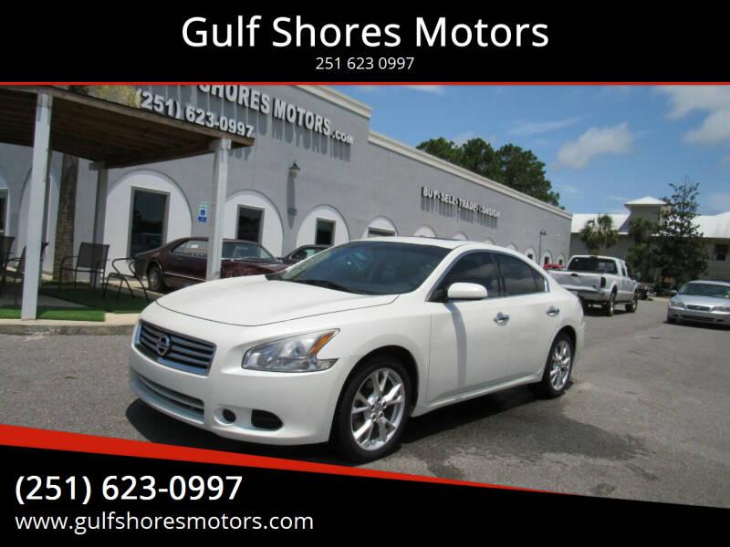 2014 Nissan Maxima for sale at Gulf Shores Motors in Gulf Shores AL