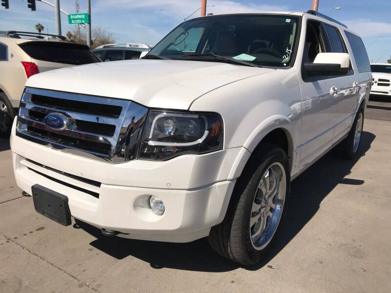 2013 Ford Expedition EL for sale at Town and Country Motors in Mesa AZ