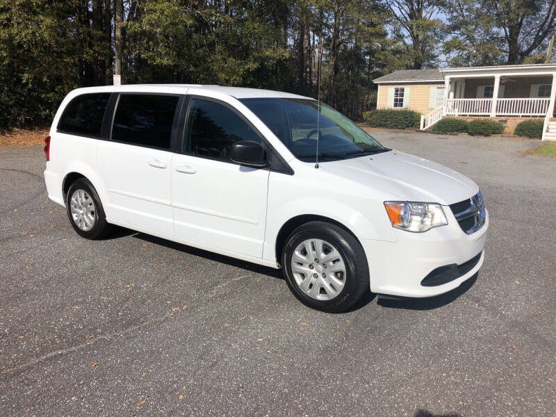 2017 Dodge Grand Caravan for sale at Dorsey Auto Sales in Anderson SC