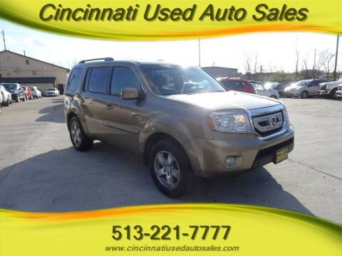 2010 Honda Pilot for sale at Cincinnati Used Auto Sales in Cincinnati OH