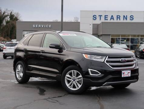 2017 Ford Edge for sale at Stearns Ford in Burlington NC