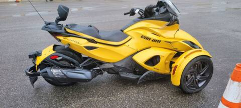 2013 Can-Am spyder roadster for sale at A-1 AUTO AND TRUCK CENTER in Memphis TN