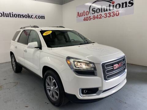 2013 GMC Acadia for sale at Auto Solutions in Warr Acres OK
