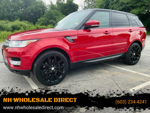 2015 Land Rover Range Rover Sport for sale at NH WHOLESALE DIRECT in Derry NH
