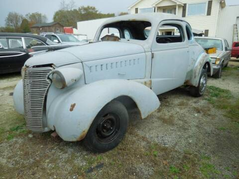 1938 Chevrolet Coupe for sale at Classic Cars of South Carolina in Gray Court SC