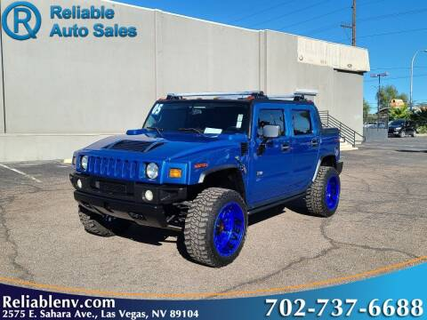 2005 HUMMER H2 SUT for sale at Reliable Auto Sales in Las Vegas NV