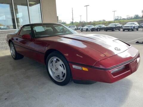 1989 Chevrolet Corvette for sale at Mann Chrysler Dodge Jeep of Richmond in Richmond KY