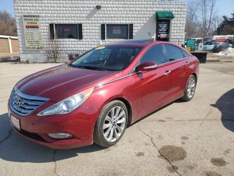 2011 Hyundai Sonata for sale at AMAZING AUTO SALES in Marengo IL