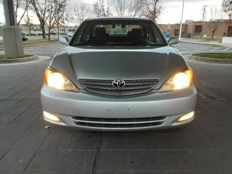2002 Toyota Camry for sale at Fredericksburg Auto Finance Inc. in Fredericksburg VA