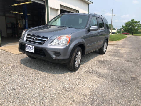 2005 Honda CR-V for sale at Purpose Driven Motors in Sidney OH
