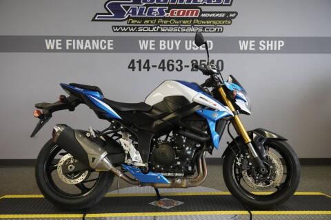 2015 Suzuki GSX-S750Z for sale at Southeast Sales Powersports in Milwaukee WI