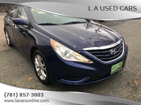 2011 Hyundai Sonata for sale at L A Used Cars in Abington MA