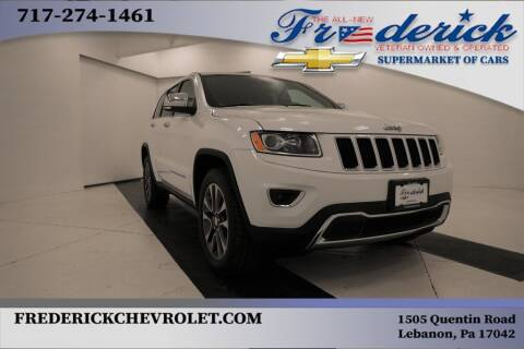 2016 Jeep Grand Cherokee for sale at Lancaster Pre-Owned in Lancaster PA