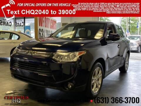 2014 Mitsubishi Outlander for sale at CERTIFIED HEADQUARTERS in Saint James NY
