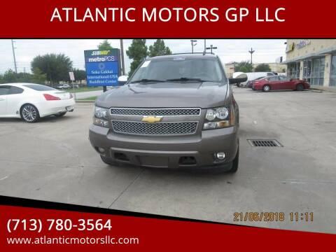 2011 Chevrolet Tahoe for sale at ATLANTIC MOTORS GP LLC in Houston TX