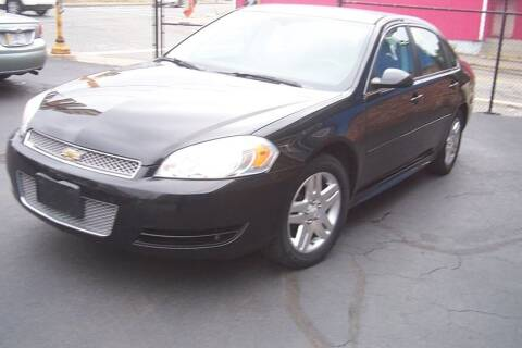 2012 Chevrolet Impala for sale at BAR Auto Sales in Brockton MA