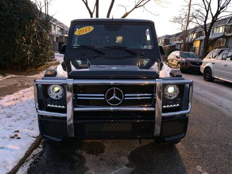 2013 Mercedes-Benz G-Class for sale at K J AUTO SALES in Philadelphia PA