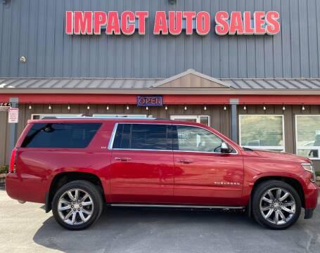 2015 Chevrolet Suburban for sale at Impact Auto Sales in Wenatchee WA