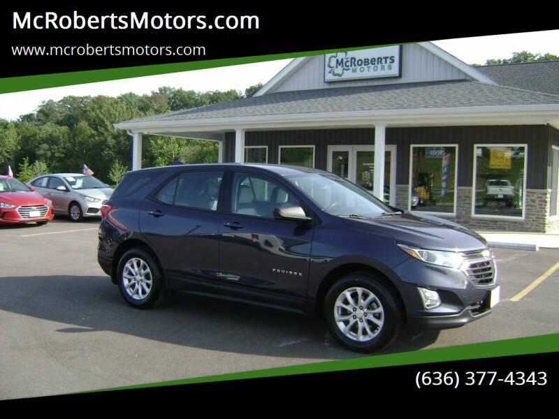 2018 Chevrolet Equinox for sale at McRobertsMotors.com in Warrenton MO