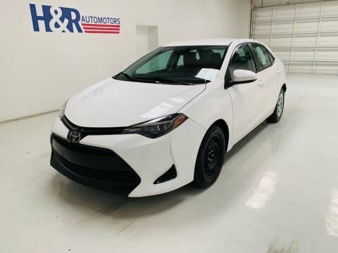 2019 Toyota Corolla for sale at H&R Auto Motors in San Antonio TX