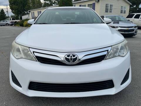 2014 Toyota Camry for sale at East Carolina Auto Exchange in Greenville NC
