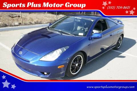 2003 Toyota Celica for sale at Sports Plus Motor Group LLC in Sunnyvale CA
