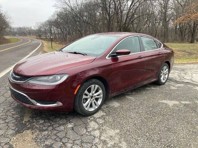 2015 Chrysler 200 for sale at Varco Motors LLC - Inventory in Denison KS