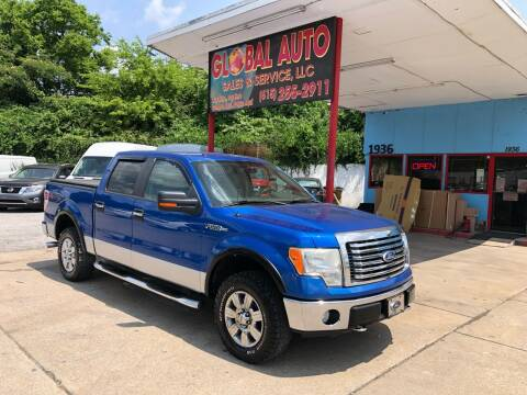 2010 Ford F-150 for sale at Global Auto Sales and Service in Nashville TN