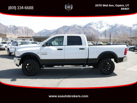 2016 RAM Ram Pickup 2500 for sale at S S Auto Brokers in Ogden UT