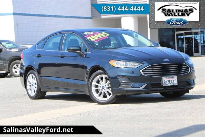 2020 Ford Fusion Hybrid for sale in Salinas, CA