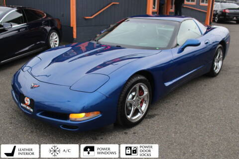 2002 Chevrolet Corvette for sale at Sabeti Motors in Tacoma WA