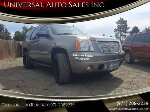 2008 GMC Yukon for sale at Universal Auto Sales Inc in Salem OR