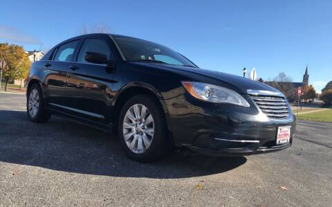 2011 Chrysler 200 for sale at Budget Auto Sales Inc. in Sheboygan WI