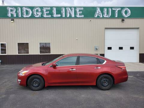 2014 Nissan Altima for sale at RIDGELINE AUTO in Chubbuck ID
