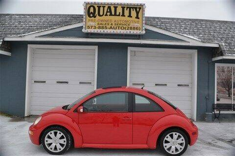 2003 Volkswagen New Beetle for sale at Quality Pre-Owned Automotive in Cuba MO