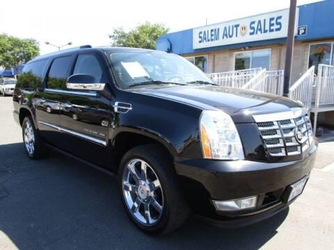 2011 Cadillac Escalade ESV for sale at Salem Auto Sales in Sacramento CA