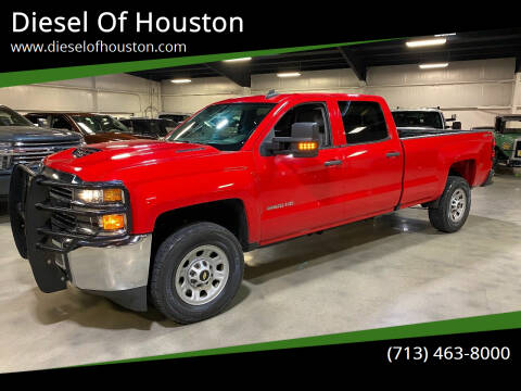 2017 Chevrolet Silverado 3500HD for sale at Diesel Of Houston in Houston TX