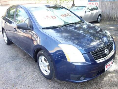 2008 Nissan Sentra for sale at R & D Motors in Austin TX