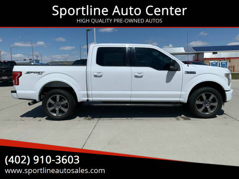 2016 Ford F-150 for sale at Sportline Auto Center in Columbus NE