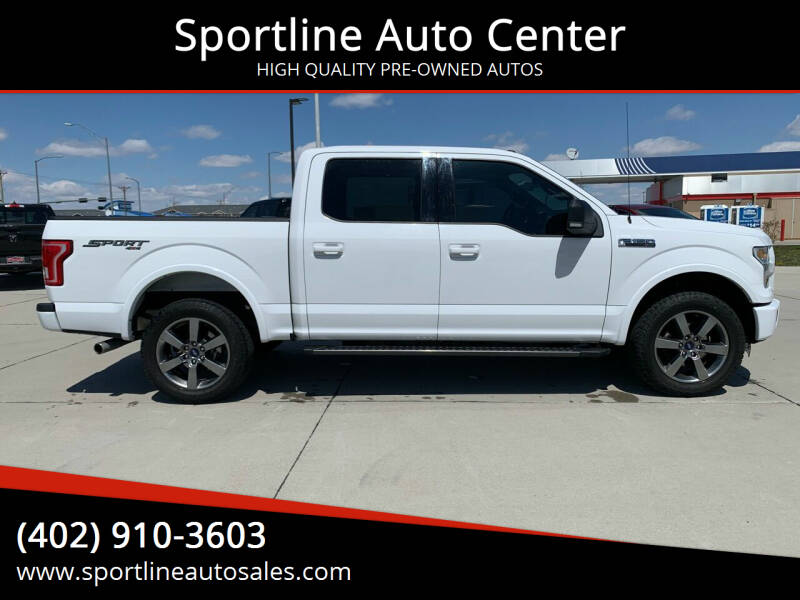 2016 Ford F-150 for sale at Sportline Auto Center in Columbus NE