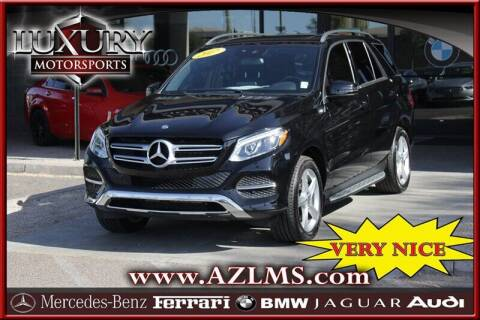 2017 Mercedes-Benz GLE for sale at Luxury Motorsports in Phoenix AZ