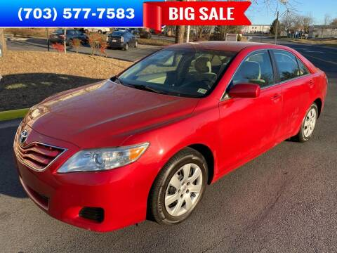 2010 Toyota Camry for sale at Dreams Auto Group LLC in Sterling VA