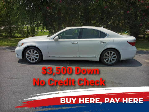 2007 Lexus LS 460 for sale at BP Auto Finders in Durham NC