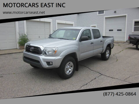 2013 Toyota Tacoma for sale at MOTORCARS EAST INC in Derry NH