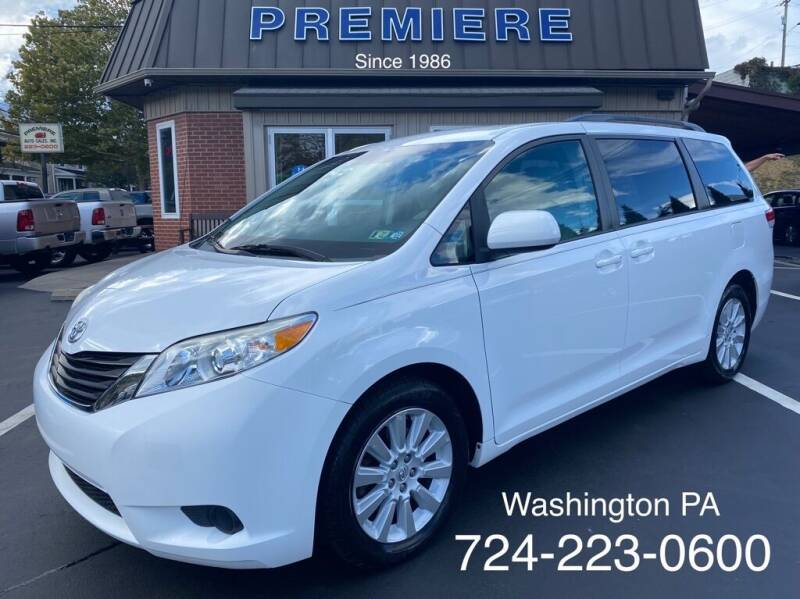 2013 Toyota Sienna for sale at Premiere Auto Sales in Washington PA