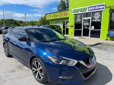 2017 Nissan Maxima for sale at Empire Auto Group in Indianapolis IN