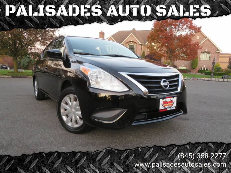 2016 Nissan Versa for sale at PALISADES AUTO SALES in Nyack NY