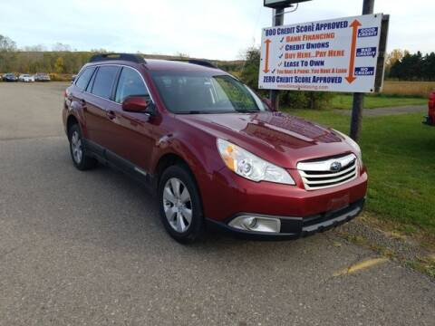 2012 Subaru Outback for sale at Sensible Sales & Leasing in Fredonia NY